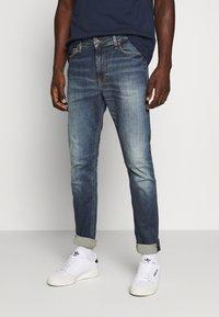 Tommy Jeans - SIMON  - Jeans Skinny Fit - danny dark blue stretch - 0