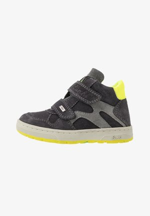 DAMIAN TEX - High-top trainers - charcoal