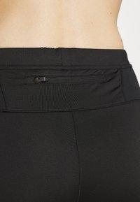 CMP - WOMAN PANT - 3/4 sportsbukser - black asphalt - 3