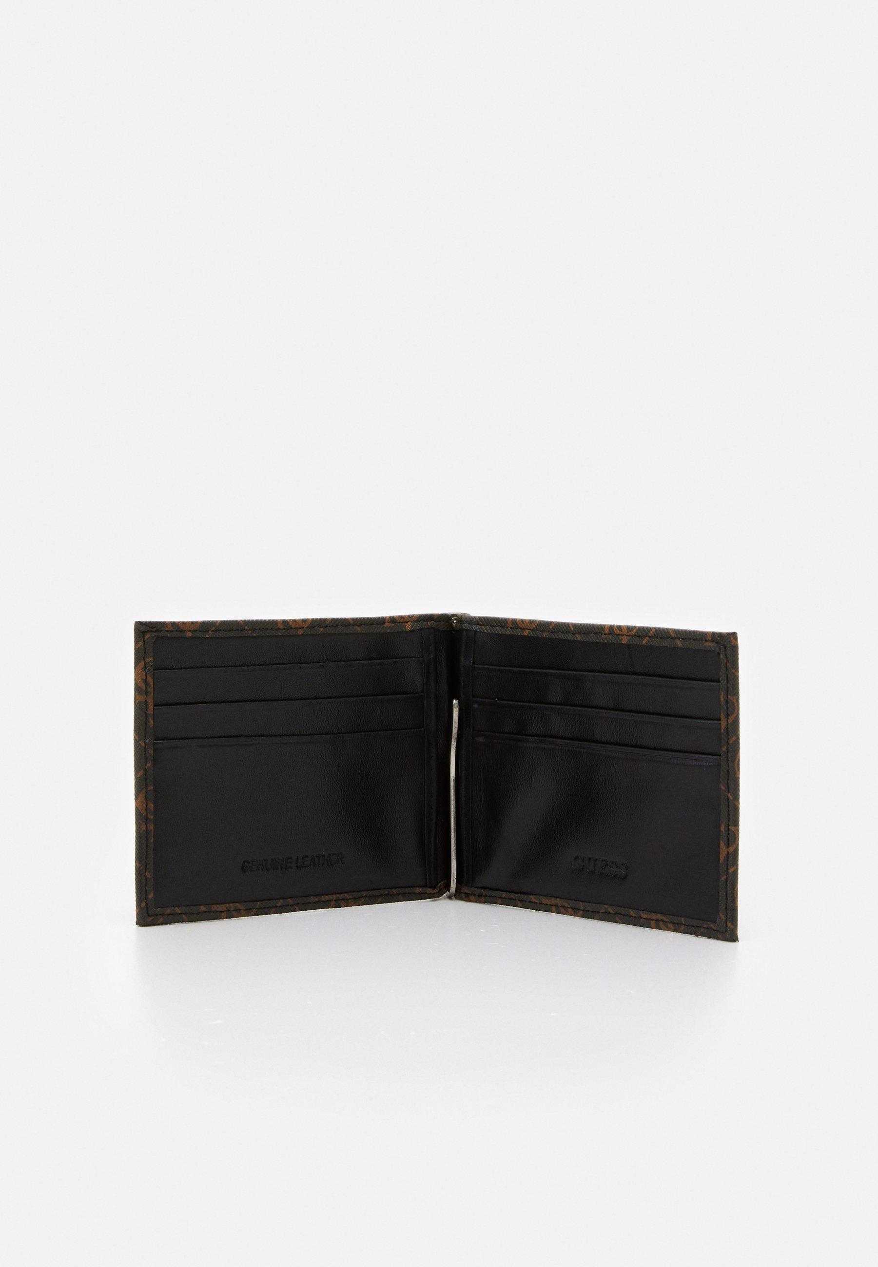 Guess VEZZOLA MONEY CLIP - Geldbörse - brown/braun - Herrentaschen LGtWF