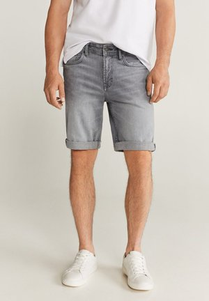 ROCK - Shorts di jeans - gris denim