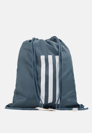 3 STRIPES TRAINING SPORTS GYM SACK UNISEX - Drawstring sports bag - legblu/white