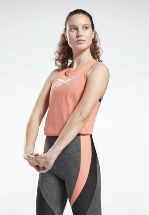 VECTOR ESSENTIALS TRAINING TANK - Top - red
