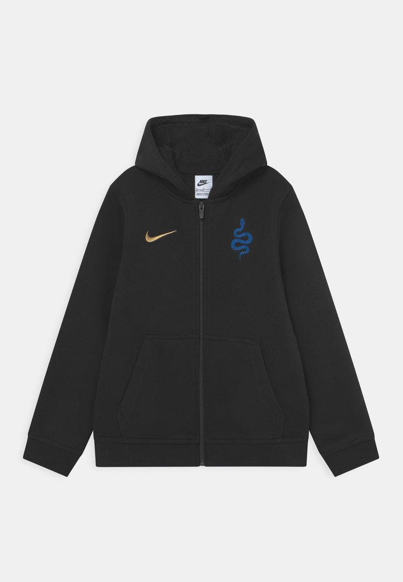 Nike Performance - INTER MAILAND HOODIE  - Club wear - black