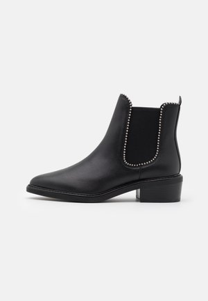 BOWERY BEADCHAIN BOOTIE - Stiefelette - black