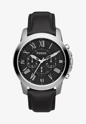 GRANT - Watch - schwarz/silver-coloured