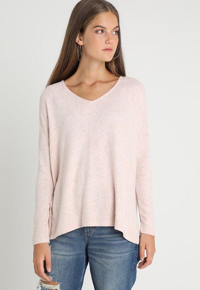 ONLKLEO NOOS - Pullover - rose dawn/melange