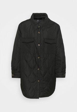 VMSIMONELOA SHIRT JACKET - Light jacket - black