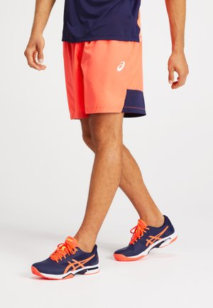 Sports shorts - flash coral/peacoat