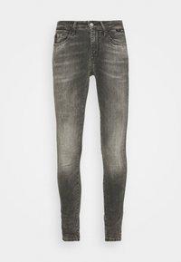 ADRIANA - Jeans Skinny Fit - dark gret distressed glam