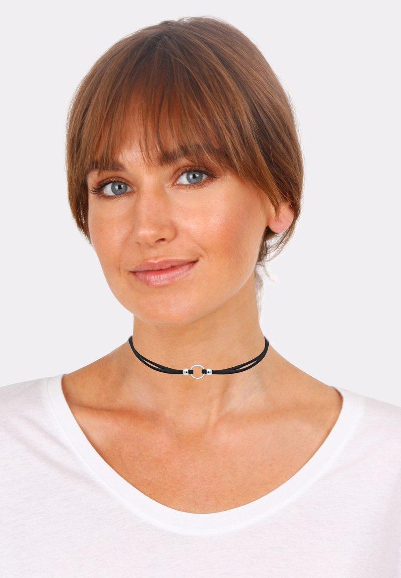 Elli - CHOKER - Necklace - schwarz