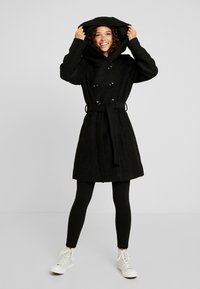 Anna Field Petite - Short coat - black - 1