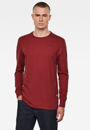 BASE ROUND LONG SLEEVE - Long sleeved top - dust brick