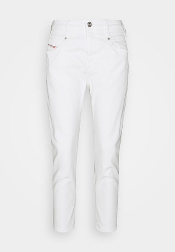 FAYZA - Relaxed fit jeans - white