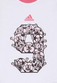 adidas Performance - SET - Sports shorts - white - 3