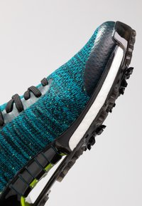 adidas Golf - TOUR360 XT PRIMEKNIT - Golfsko - core black/activ teal/solar lime - 5