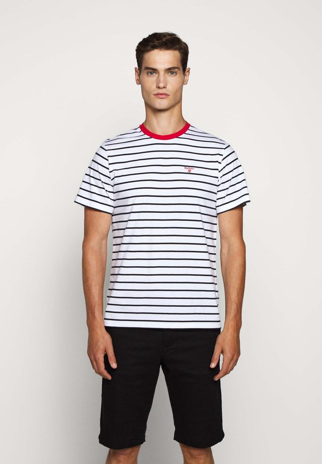 PORTREE TEE - T-shirt con stampa - navy