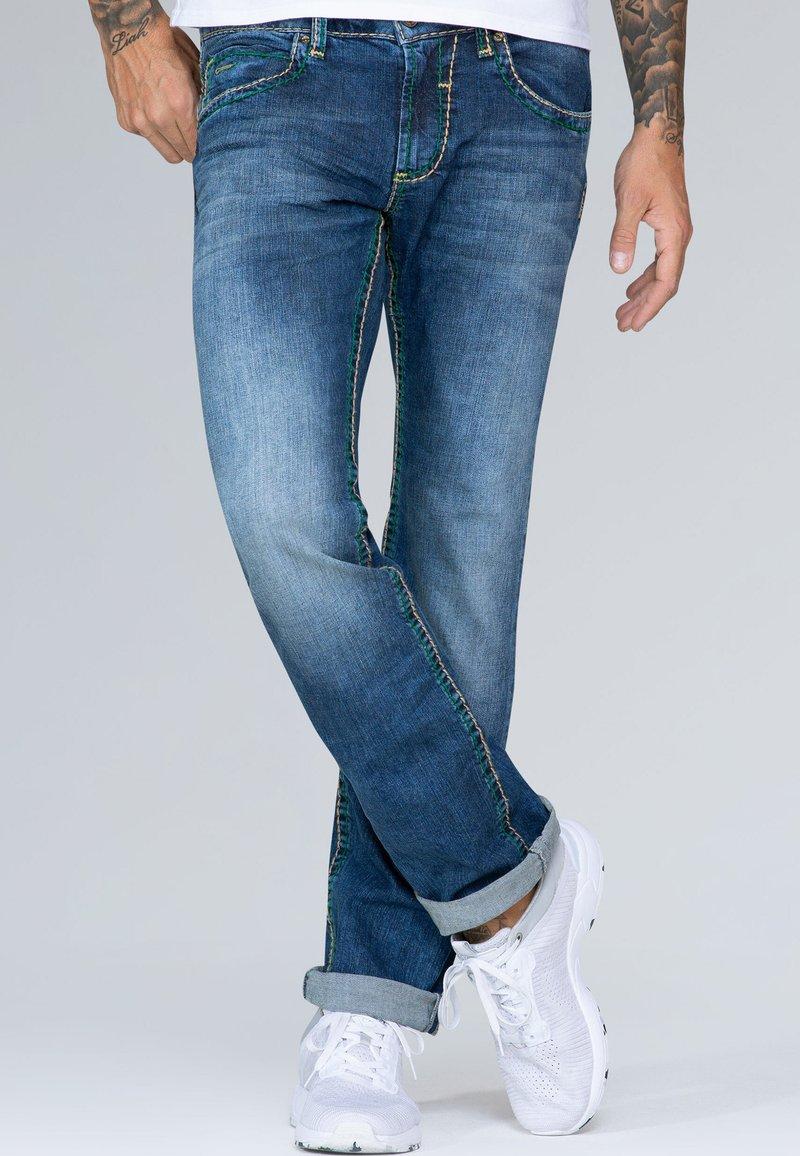 Camp David - Bootcut jeans - blue denim