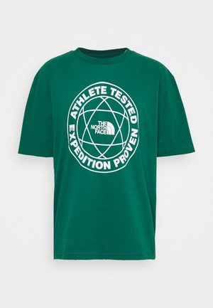 FIFTH TEE - T-shirt med print - evergreen