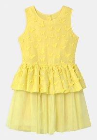 Charabia - SLEEVELESS  - Cocktail dress / Party dress - straw yellow - 0