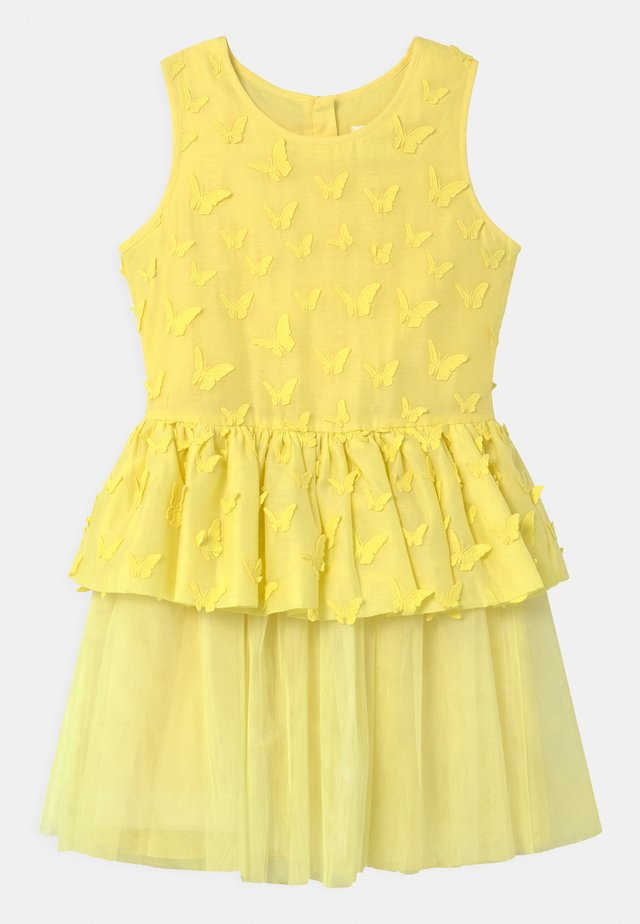SLEEVELESS  - Cocktail dress / Party dress - straw yellow