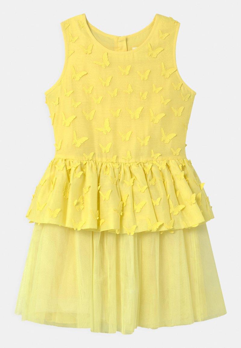 Charabia - SLEEVELESS  - Cocktail dress / Party dress - straw yellow