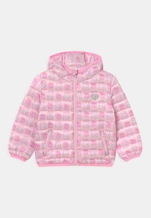 TODDLER PADDED HOODED UNISEX - Winter jacket - light pink