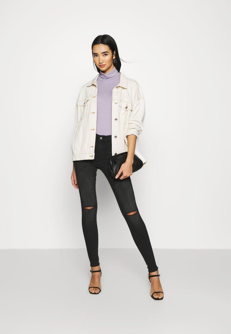 Monki - ELIN  - Long sleeved top - purple