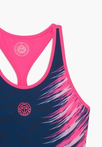 BIDI BADU - CLEO TECH TANK - Top - dark blue/pink - 3