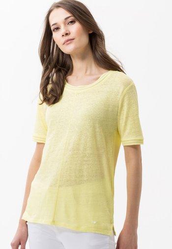 STYLE CATHY - Basic T-shirt - yellow