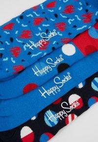 Happy Socks - GIFT BOX 4 PACK - Socks - blue - 2