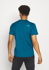 The North Face - MENS REAXION EASY TEE - Print T-shirt - moroccan blue - 2