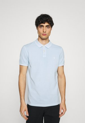 SHORT SLEEVE BUTTON PLACKET - Polo shirt - palace pearl