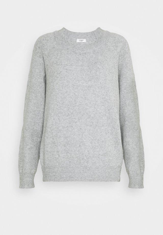 JDYBRILLIANT  - Sweter - light grey melange
