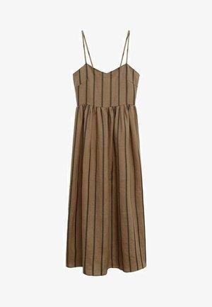 Day dress - marrón