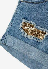 Name it - Jeans Shorts - medium blue denim - 3
