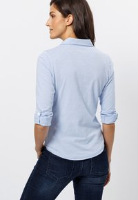 zero - Button-down blouse - fresh blue - 2