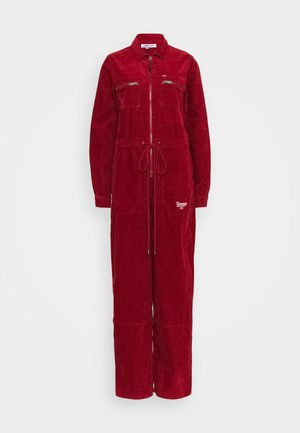REGULAR ZIP BOILER - Jumpsuit - wine red