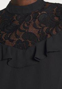 Wallis - RUFFLE - Long sleeved top - black - 7
