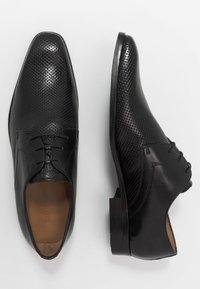 Melvin & Hamilton - RICO - Šněrovací boty - black - 1