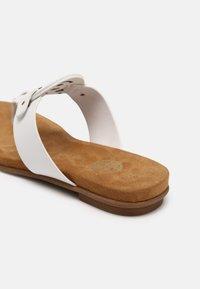 Bugatti - JASMIN - T-bar sandals - white - 5