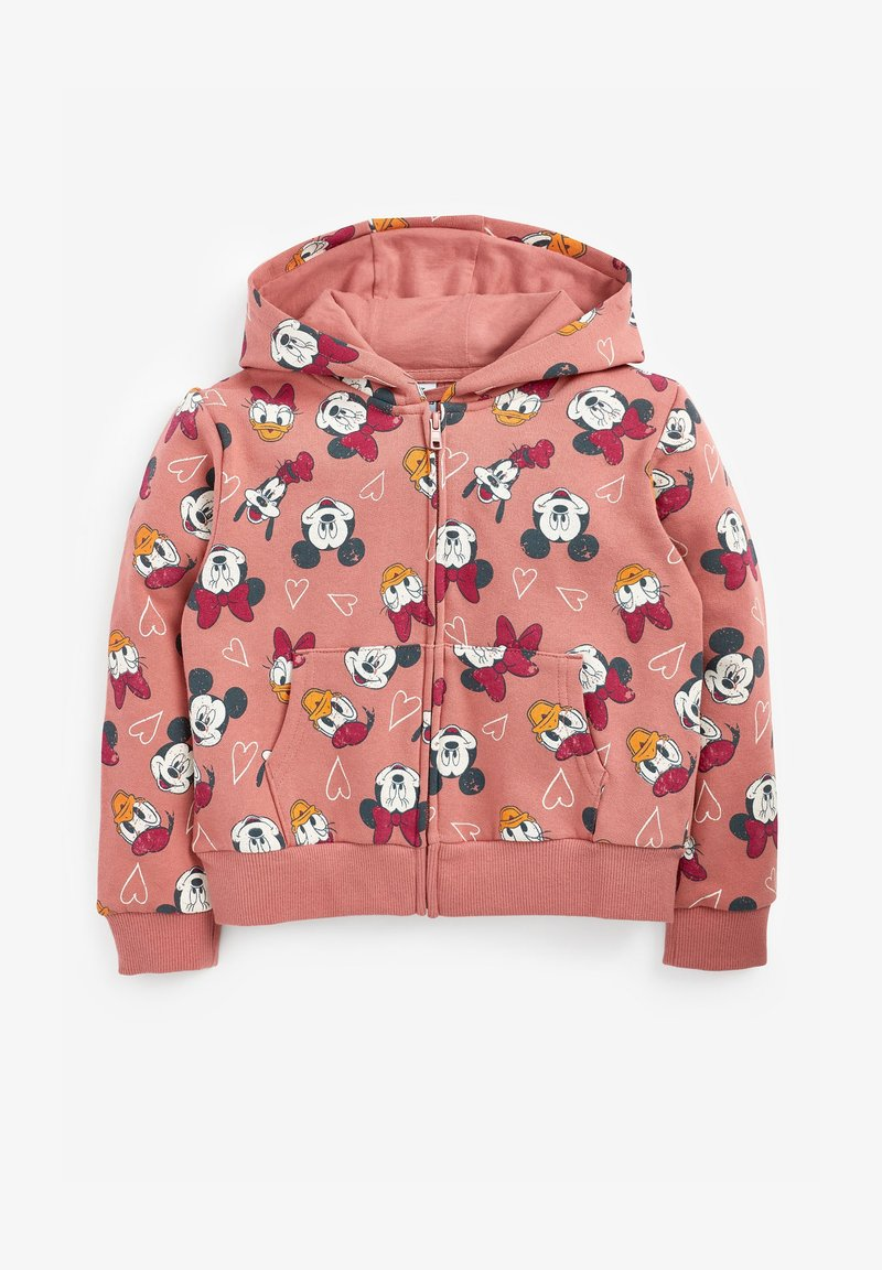 Next - FLURO - Zip-up sweatshirt - orange