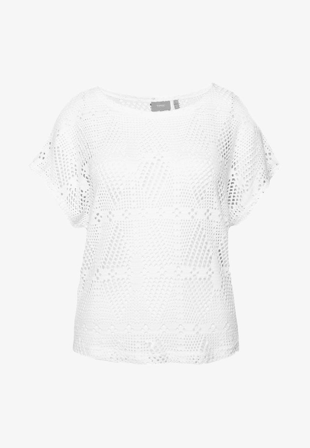 BYSIGRID - T-shirt print - off white