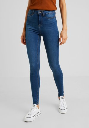 CALLIE - Skinny džíny - medium blue denim