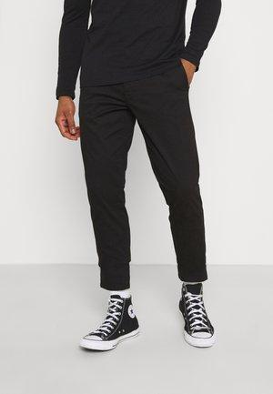 ONSWILL LIFE - Chino kalhoty - black