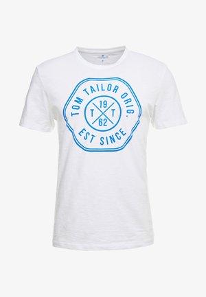 SLUB - Print T-shirt - white