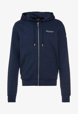 HOODIE - Zip-up hoodie - navy