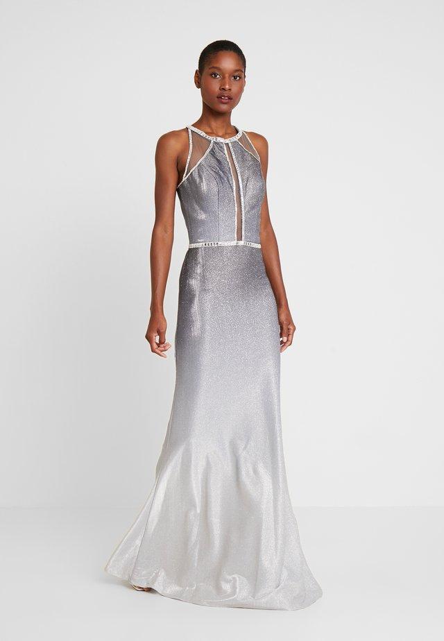 Společenské šaty - grau/silber