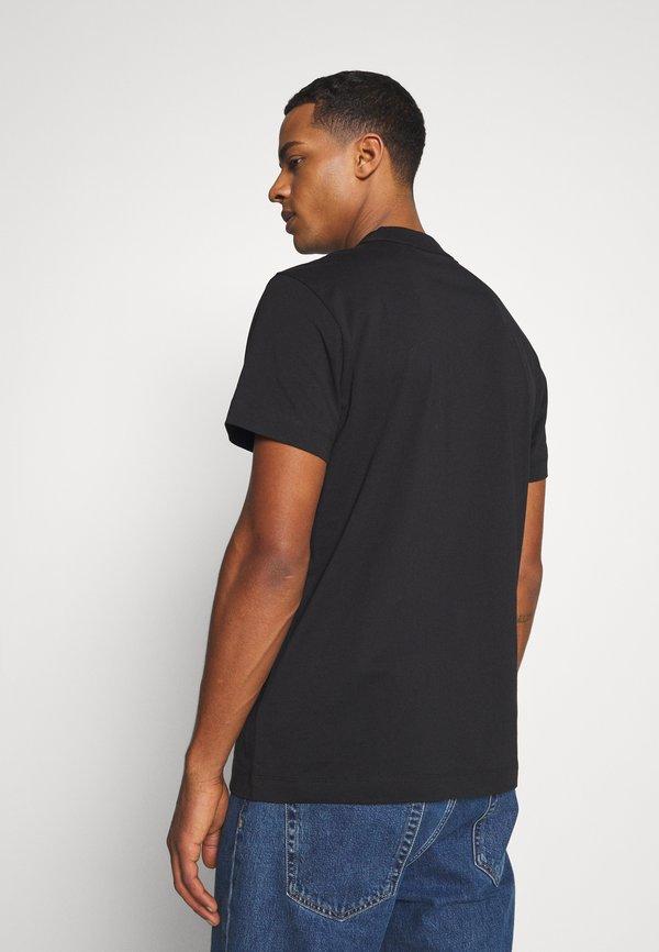 Calvin Klein Jeans CENSORED TEE - T-shirt z nadrukiem - black/czarny Odzież Męska SWTE
