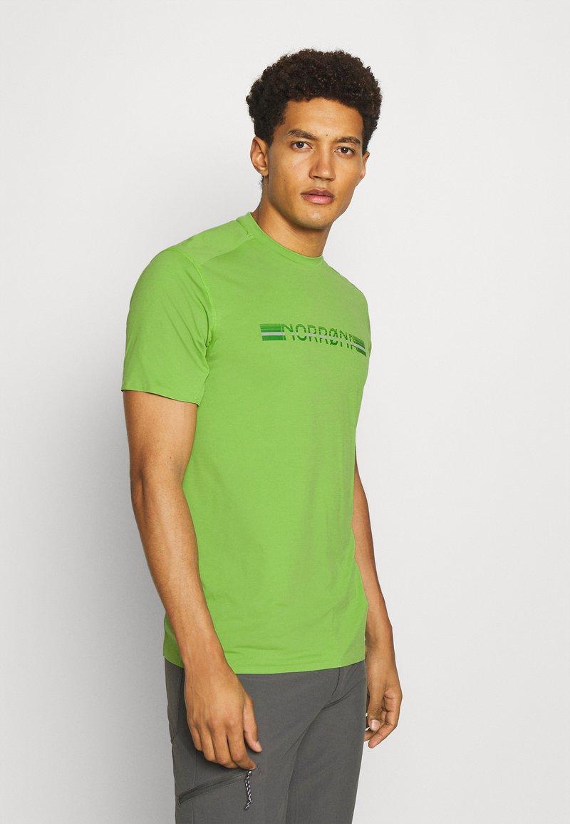 Norrøna - BITIHORN TECH  - T-shirt imprimé - foliage